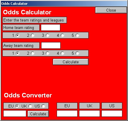 odds calculator